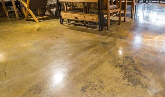 地面如果用复古地坪漆施工,要注意哪些细节?